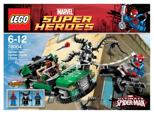Lego Super Heroes 76004 Spider-Cycle Chase