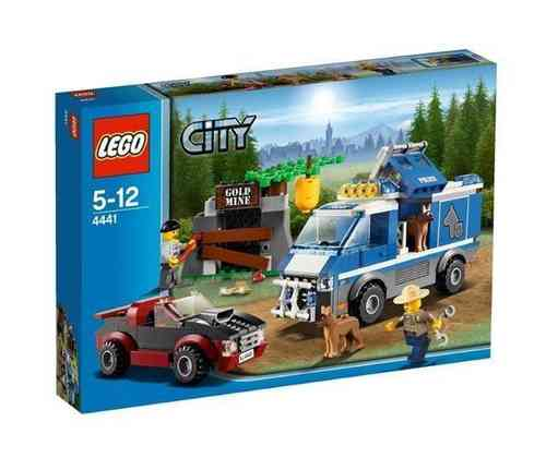 LEGO City 4441 Polizeihundetransporter
