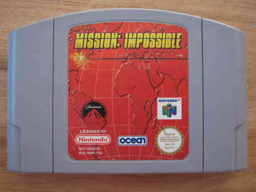 MISSION IMPOSSIBLE für NINTENDO 64
