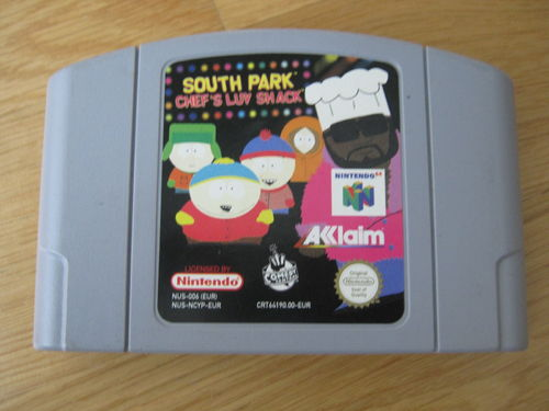 SOUTH PARK CHEF'S LUV SHACK für NINTENDO 64