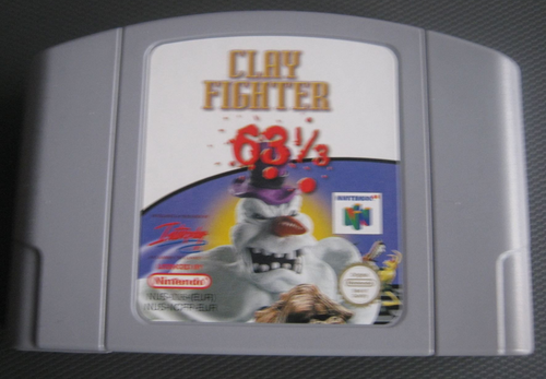CLAY FIGHTER 63 1/3 für NINTENDO 64