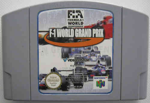 F-1 WORLD GRAND PRIX für NINTENDO 64