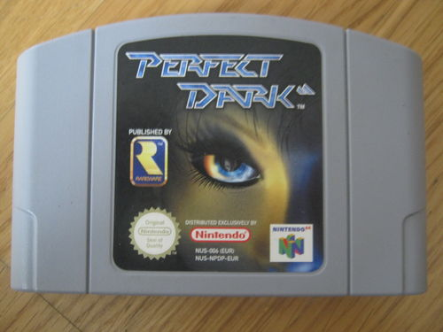 PERFECT DARK für NINTENDO 64