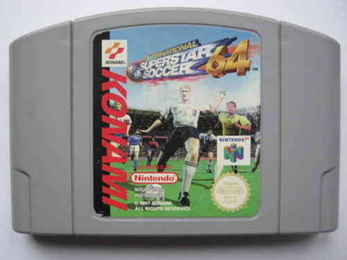 INTERNATIONAL SUPERSTAR SOCCER 64 für NINTENDO 64
