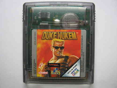 DUKE NUKEM für NINTENDO GAMEBOY COLOR
