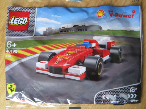 Lego Shell V-Power Polybag 40190 F138