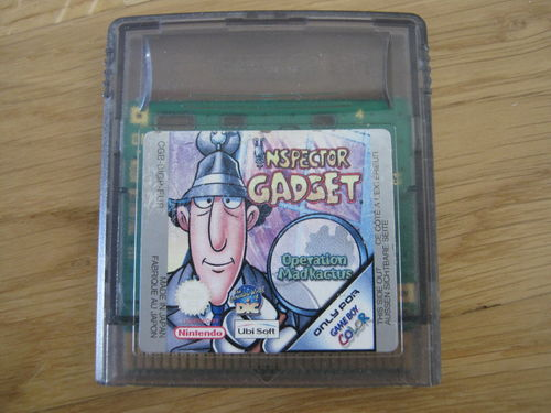 INSPECTOR GADGET für NINTENDO GAMEBOY COLOR