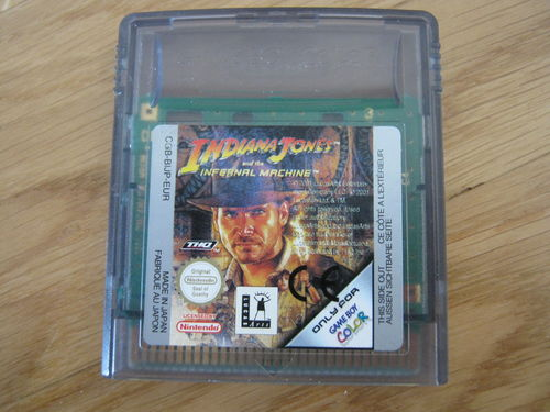 INDIANA JONES AND THE INFERNAL MACHINE für NINTENDO GAMEBOY COLOR