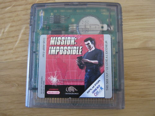 MISSION IMPOSSIBLE für NINTENDO GAMEBOY COLOR