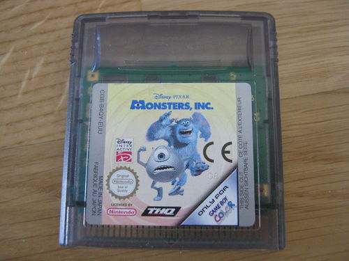 MONSTERS INC. für NINTENDO GAMEBOY COLOR