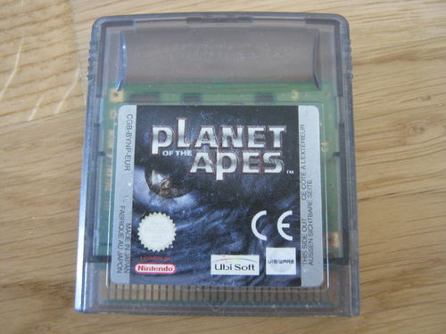 PLANET OF THE APES für NINTENDO GAMEBOY COLOR