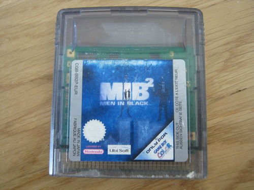 MIB2 für NINTENDO GAMEBOY COLOR