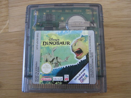 DINOSAUR für NINTENDO GAMEBOY COLOR