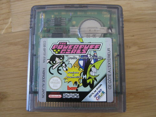 THE POWERPUFF GIRS für NINTENDO GAMEBOY COLOR