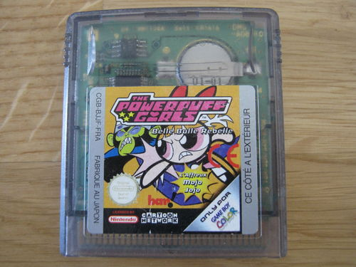 THE POWERPUFF GIRLS für NINTENDO GAMEBOY COLOR