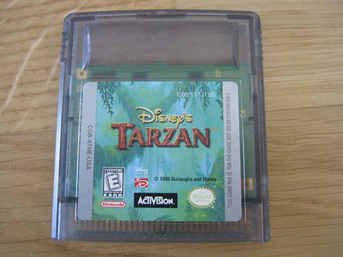 DISNEY'S TARZAN für NINTENDO GAMEBOY COLOR