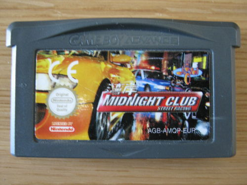 MIDNIGHT CLUB STREET RACING für NINTENDO GBA