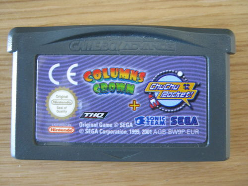 COLUMN'S CROWN + CHU CHU ROCKET für NINTENDO GBA