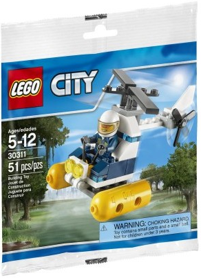 Lego City 30311 Polybag Swamp Police Helicopter
