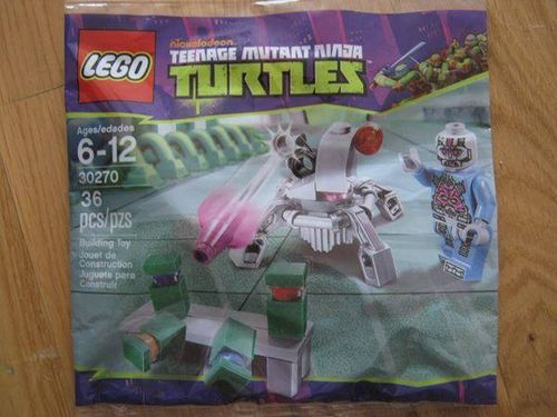 Lego Turtles Polybag 30270 Kraang Laser Turret