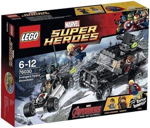 Lego Super Heroes 76030 Avengers Duell mit Hydra