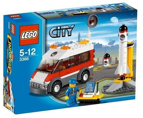 Lego City 3366 Satellitenstartrampe