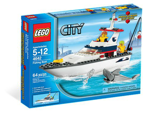Lego City 4642 Fischerboot