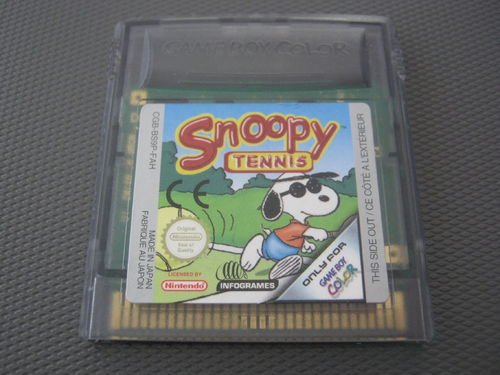 SNOOPY TENNIS für NINTENDO GAMEBOY COLOR