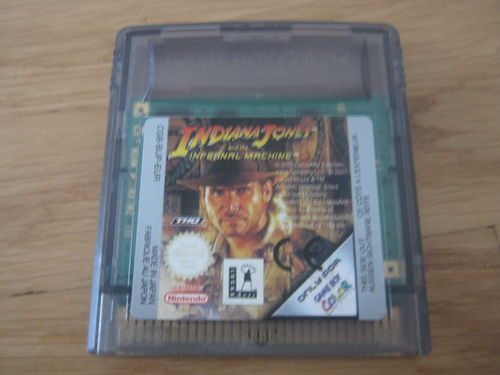 INDIANA JONES INFERNAL MACHINE für NINTENDO GAMEBOY COLOR