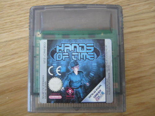HANDS OF TIME für NINTENDO GAMEBOY COLOR