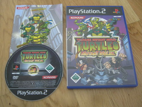 TMNT MUTANT MELEE für PLAYSTATION 2