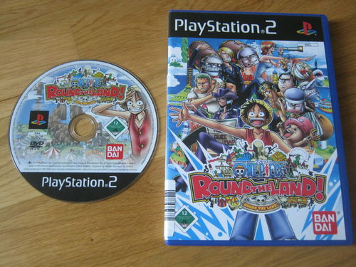 ONE PIECE ROUND THE LAND für PLAYSTATION 2