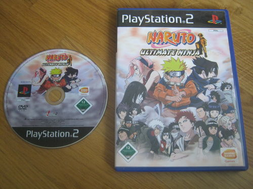 NARUTO ULTIMATE NINJA für PLAYSTATION 2