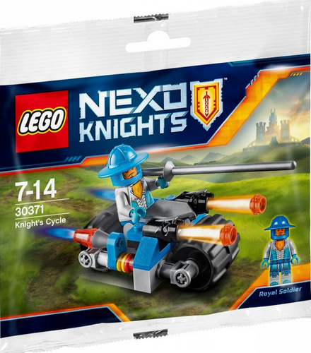 Lego Nexo Knights 30371 Knight's Cycle