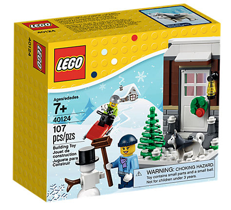Lego Saisonale Sets 40124 Winter Fun