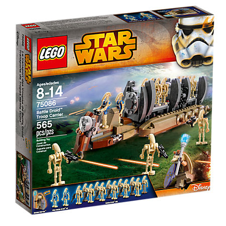 Lego Star Wars 75086 Battle Droid Troop Carrier