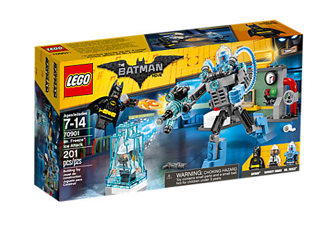 Lego Batman Movie 70901 Mr. Freeze Eisattacke