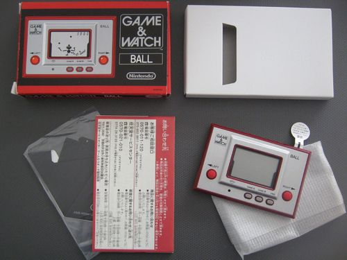 GAME & WATCH BALL RGW-001