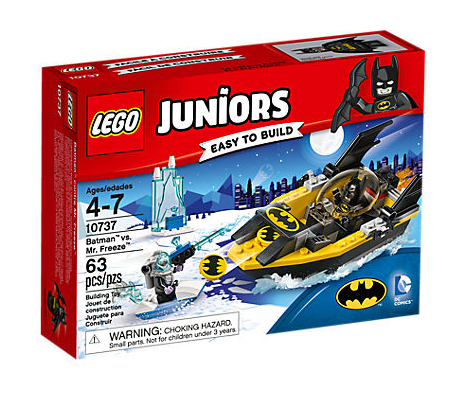 Lego Juniors 10737 Batman gegen Mr. Freeze