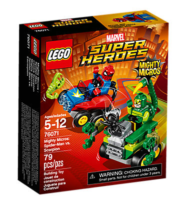 Lego 76071 Mighty Micros: Spider-Man vs. Scorpion