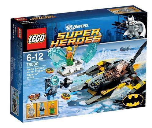 Lego Super Heroes 76000 Arktischer Batman vs. Mr. Freeze Aquaman
