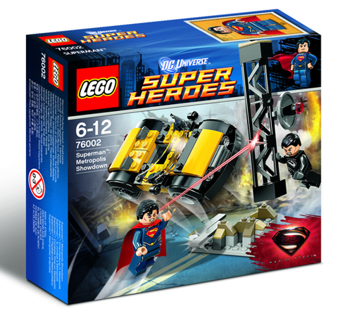 Lego Super Heroes 76002 Metropolis Showdown