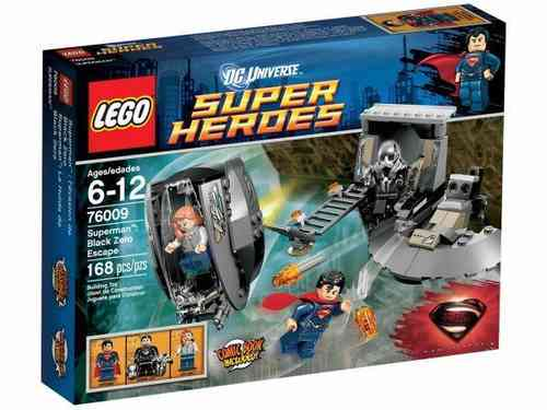 Lego Super Heroes 76009 Superman Black Zero Escape
