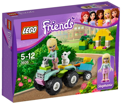 LEGO Friends 3935 Stephanie's mobile Tierrettung