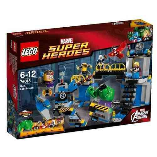 Lego Marvel Super Heroes 76018 Hulks Labor Smash