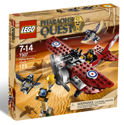 LEGO Pharaoh's Quest 7307 Duell in der Luft