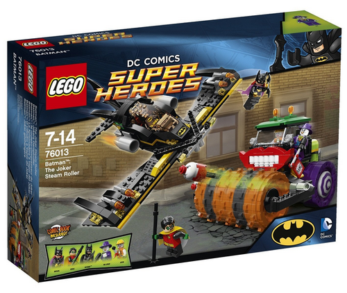 Lego Super Heroes 76013 Batman Jokers Dampfroller