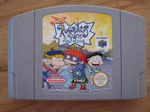 RUGRATS IN PARIS THE MOVIE für NINTENDO 64