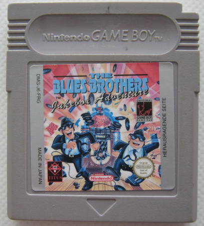 THE BLUES BROTHERS für NINTENDO GAMEBOY