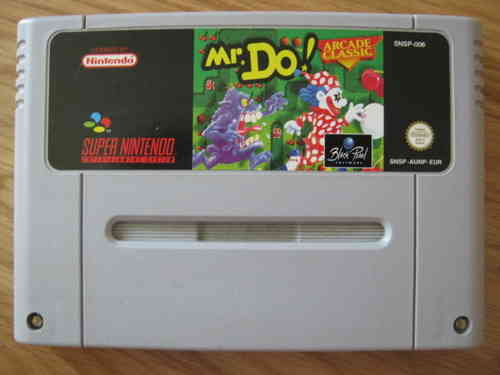 MR. DO! ARCADE CLASSICS für SUPER NINTENDO SNES